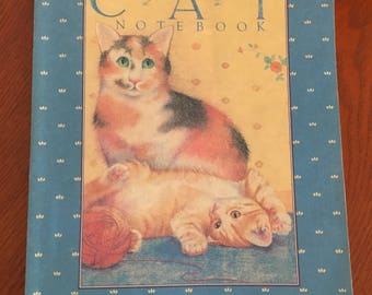 Vintage Cat Notebook