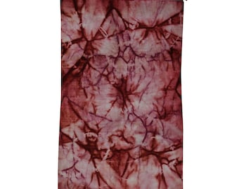 5'1''x8' Tie Dye Overdyed Hand Knotted Pure Wool Modern Oriental Rug