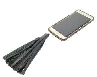 Cellphone Charm   Mobile Phone Charm   Phone Charm   Phone Tassel   Cell Phone Charm   Phone  Bling   Dust Plug Bling   Headphone Jack Charm