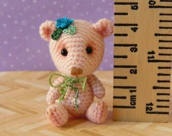 PDF PATTERN - Crochet Miniature Primulina Bear - Amigurumi Tutorial