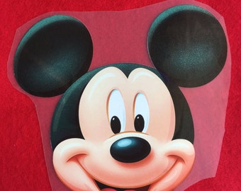 Mickey Iron-On Heat Transfer ~~Decorate all the clothing ,bags or other fabrics.