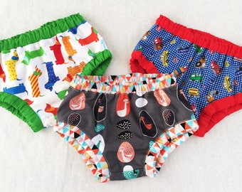ON SALE!  Pants, diaper cover sewing pattern for baby boys and baby girls sizes 3+ months to 4 years