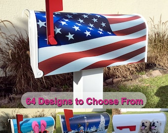Flag Magnetic Mailbox Cover