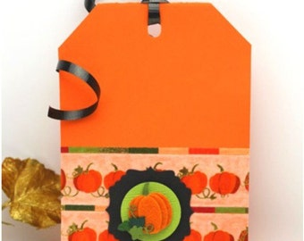 Pumpkin Vines, Washi by Little B.