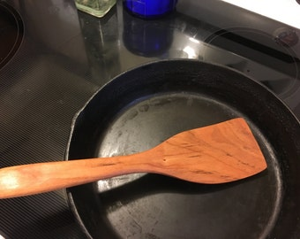 Large straight edge spatula, oil finish, great product, personalized free