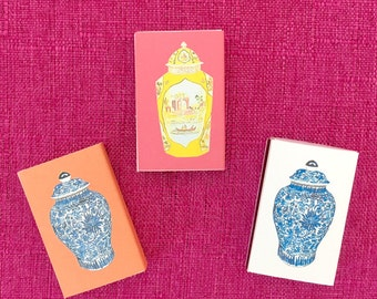 CHINOISERIE JAR COLLECTION Matches