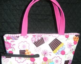 Cupcakes Kids Purse and Coin Bag Set