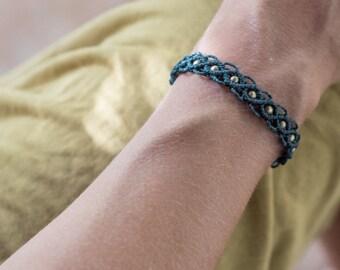 Macrame bracelet, handmade jewelry, micro macrame, handmade macrame, friendship bracelet