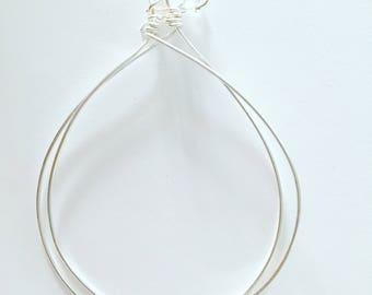 Hoop Earrings Sterling Silver Large Hoops Sterling Hoops