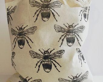 Bumble Bee tote bag