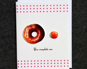 You complete me (Donut and donut hole)