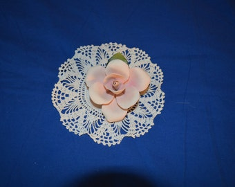 ON SALE  Porcelain Rose