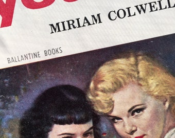 1955 pulp fiction novel, YOUNG, by Miriam Colwell