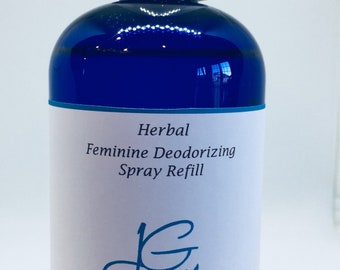 Natural Feminine Deodorant Spray,Lavender, Tea Tree, Underarms