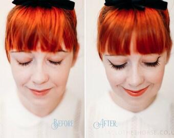 Clean Slate Natural Black Mascara - Herbal Plant Makeup - Botanical Blend - Organic Herb Mascara for Sensitive Skin and Eyes - Gentle