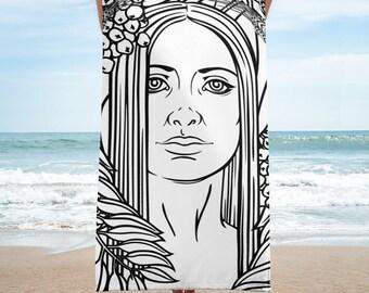Harvest Goddess Towel