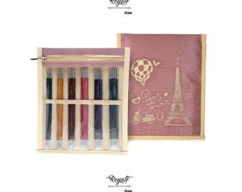 "Knitter's Pride - DP Sock Needles Set Royale 6"" Sock Needle Set"