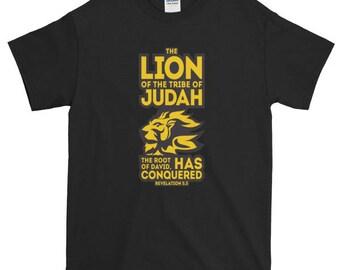 The Lion Of Judah Short Sleeve T-Shirt