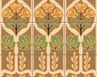 Deco Panels Decorative Tile Mural Ceramic Back Splash Artistic Kitchen Bath