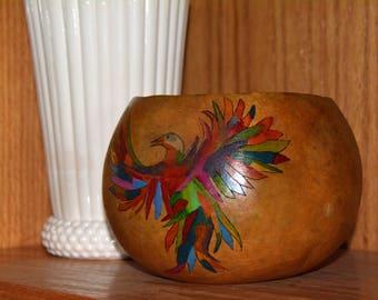 Phoenix Gourd Bowl
