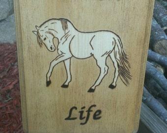 Ranch life sign