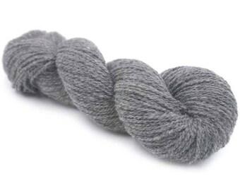 SALE New York 100 % Organic Merino Wool - Charcoal Melange