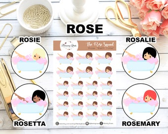 Bath Time || The Rose Squad Collection