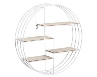 Round wire shelf