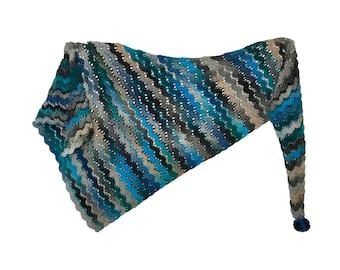 Glacier Shawl Crochet Pattern