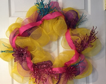Bright Spring Time Wreath