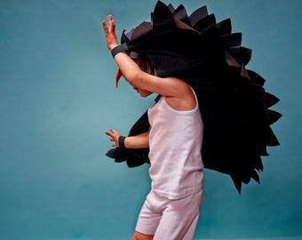 blackbird cape .... bird cape costume