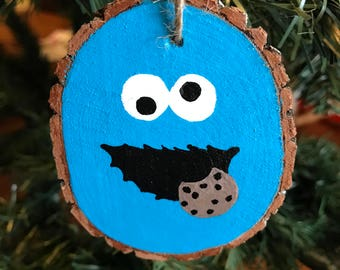 Cookie Monster ornament