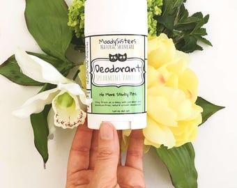 Spearmint Vanilla Cream Organic Deodorant - Aluminum Free Natural Deodorant - Mint Vanilla Natural Deodorant Stick