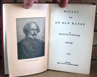 Mosses from an Old Manse by Nathaniel Hawthorne HC