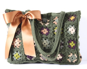 Crochet shoulderbag Grace