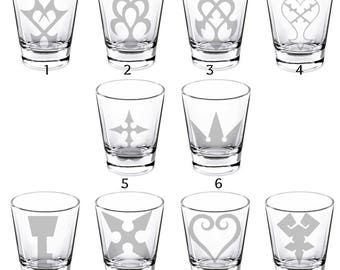 Kingdom Hearts Shot Glasses (FULL SET of 10)