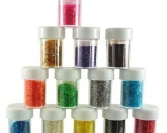 1 bottle of Edible Glitter for decorating cookies, cakes, desserts YOU CHOOSE COLOR