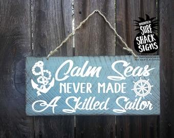 nautical decor, nautical sign, sailor, nautical wall decor, ocean decor, sailing, sailboat, sailing gift, sailing decor, sailing ship