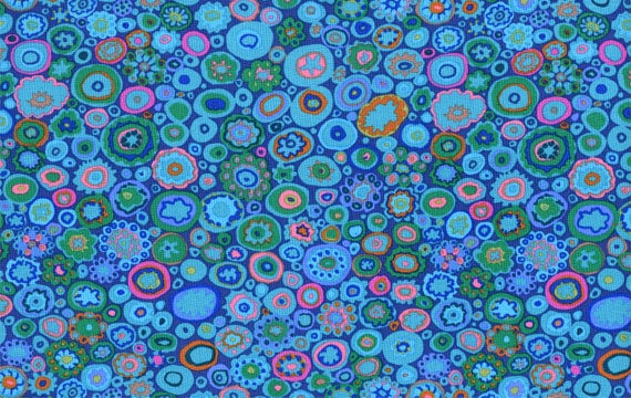 PAPERWEIGHT Teal GP20 by Kaffe Fassett fabric Sold in 1/2 yard increments