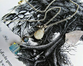 Item 7154  Gems and Pretties Necklace