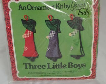 Yours Truly - An Ornament Kit - Three Little Boys