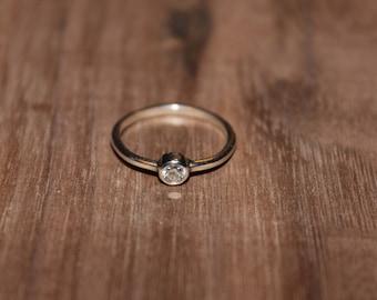 Solitary Diamond Ring