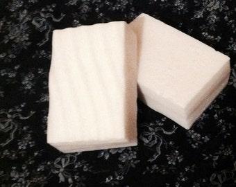 Lemon Verbena Goats Milk Soap, Made to Order, Lemony Fresh Scented Soaps, 4 ounces