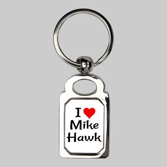 Mike Hawk keychain