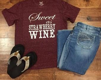 Sweet as Strawberry Wine