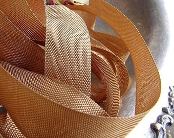 Rayon Seam Binding Ribbon Havana Brown