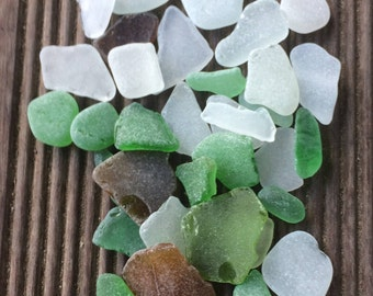 Genuine Sea Glass, Bulk Sea Glass, Tumbled Glass, Sea Glass Decoration, Beach Glass.