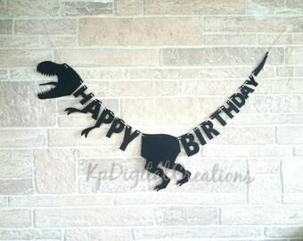 Jurassic Park birthday banner, Dinosaur birthday, Dinosaur party, Jurassic world party, Jurassic world birthday, Dinosaur banner, dino party