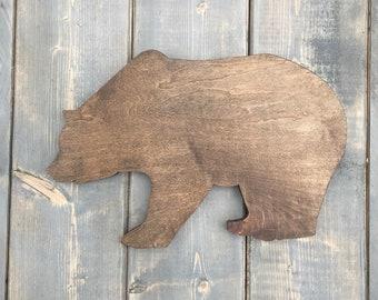 Wood Bear, Wood Bear Decor