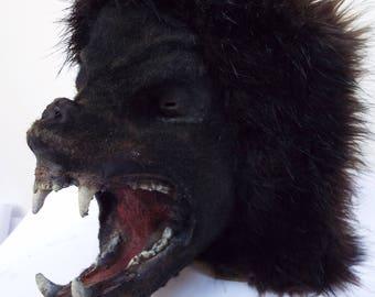 WEREWOLF Mask Custom Build Using DDFX studio Monster Head Blank